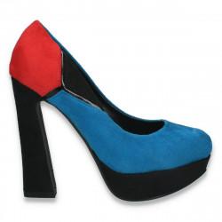 Pantofi in 3 culori, cu toc foarte inalt, pentru dama - LS507