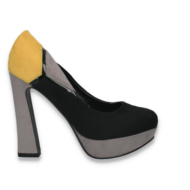 Pantofi in 3 culori, cu toc foarte inalt, pentru dama - LS508