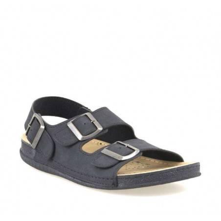 Sandale barbati negru marca Fly Shoes VGT704-S02N-45