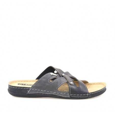 Saboti barbati gri marca Fly Shoes VGT704-01NGR-10