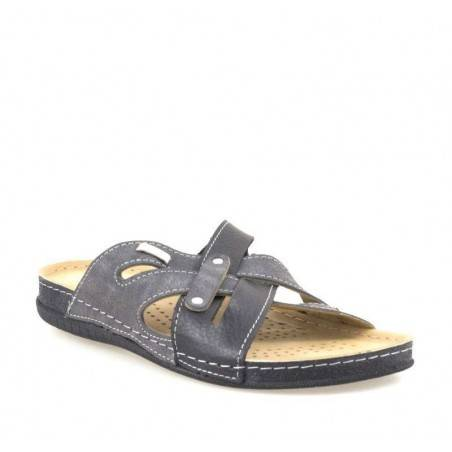Saboti barbati gri marca Fly Shoes VGT704-01NGR