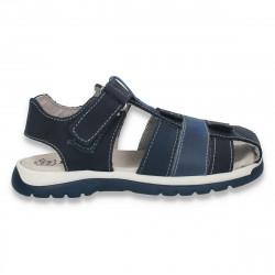 Sandale baieti, bleumarin - LS557