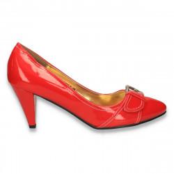 Pantofi eleganti dama, rosii - LS559