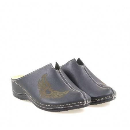 Saboti dama negru marca Fly Shoes VGT602-71N