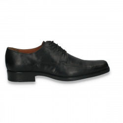 Pantofi barbati din piele, model clasic, Next, negri - W170