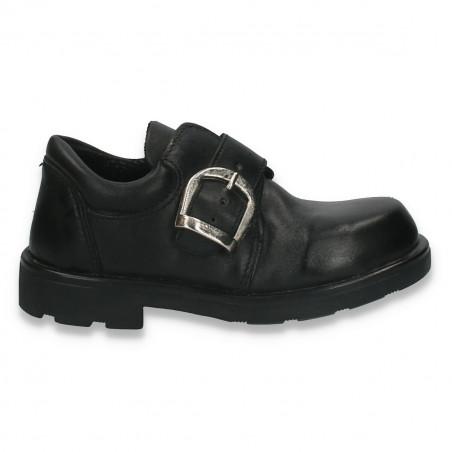Pantofi eleganti pentru baieti, din piele - W178