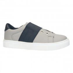 Pantofi sport copii, gri cu negru - W179