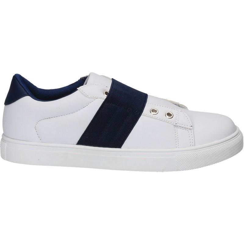 Pantofi casual, albi, pentru copii - W180