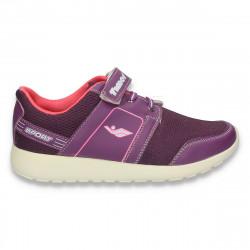 Pantofi sport pentru fete, mov - W198