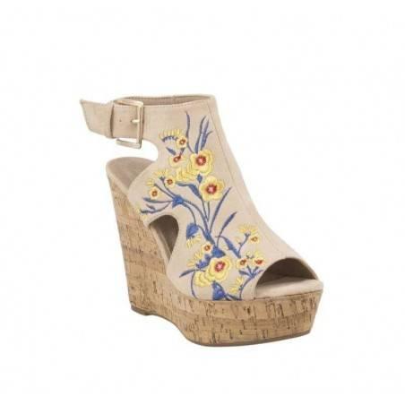 Sandale dama casual bej VGFL2218BE.MS-31