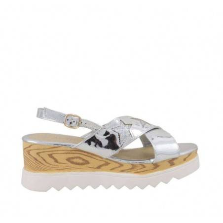 Sandale glamour, cu talpa groasa