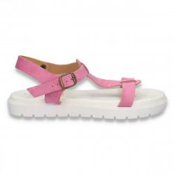Sandale piele dama, cu...