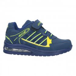 Pantofi sport baieti, bleumarin-verde - W323