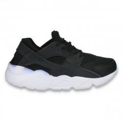 Pantofi sport femei, negri - W334