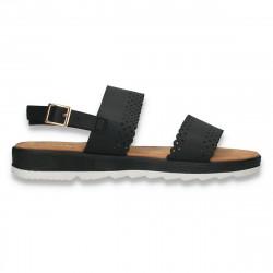 Sandale casual dama, negre - W462