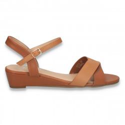Sandale casual dama, maro - W465