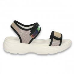 Sandale casual pentru fete, roz - W469