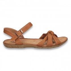 Sandale comode pentru dama, maro - W476
