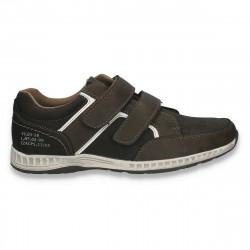 Pantofi sport, cu scai, pentru barbati, maro - W497