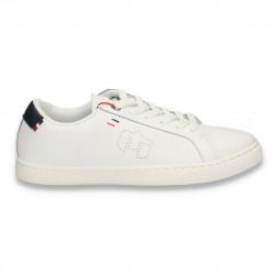 Sneakers pentru barbati, casual, albi - W503
