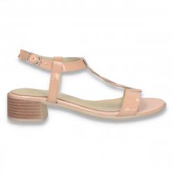 Sandale elegante din piele...