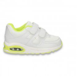Pantofi sport baieti, albi - W539