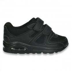 Pantofi sport baieti, negri - W540