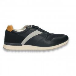 Sneakers barbati, bleumarin - W602
