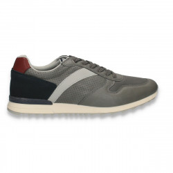 Sneakers barbati, gri - W603
