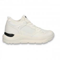 Pantofi sport pentru barbati, albi - W610