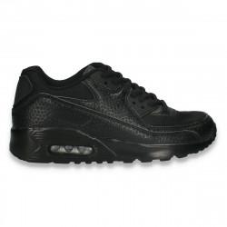 Sneakers trendy dama, negri - W619