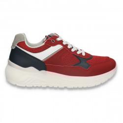 Pantofi sport barbati, Bordeaux-bleumarin - W652