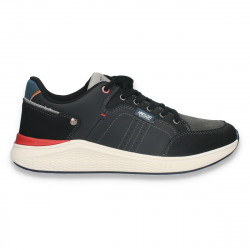 Sneakers pentru barbati, negri - W687