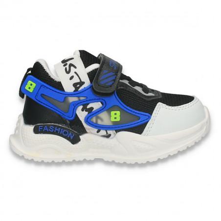 Pantofi sport pentru baieti, negri - W695
