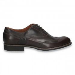 Pantofi din piele pentru barbati, model clasic, maro - W707