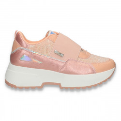 Sneakers casual dama, cu talpa groasa, roz - W756