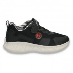 Pantofi sport pentru baieti, negri - W761