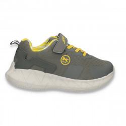 Pantofi sport pentru baieti, gri - W763