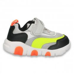 Pantofi sport pentru baieti, gri-verde - W771