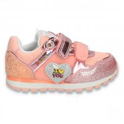 Pantofi sport, pentru fetite, roz - W778