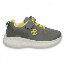 Pantofi sport pentru baieti, gri - W780