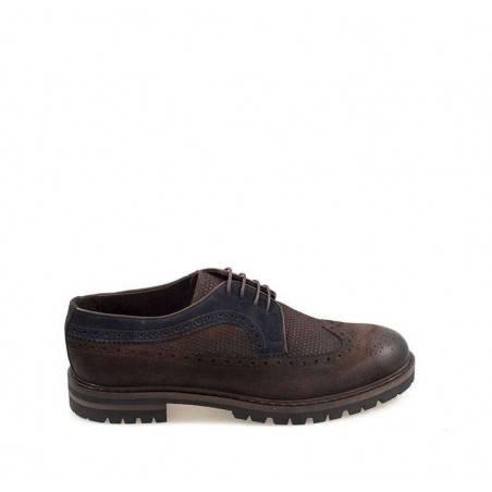 Pantofi Oxford, din piele naturala, pentru barbati