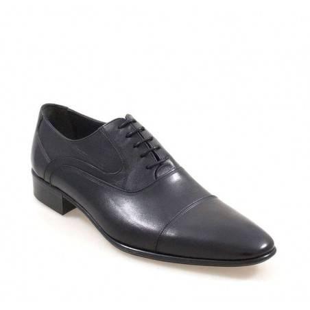 Pantofi Barbati Negri cu finisaj lucios