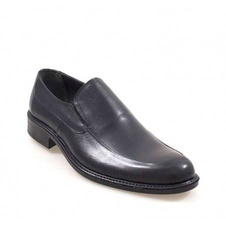 Pantofi Barbati Negri clasici fara siret