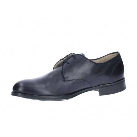 Pantofi Barbati Clasici albastri cu Varf rotund