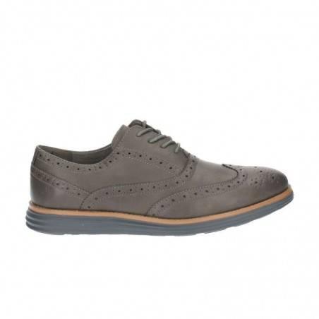 Pantofi gri, Oxford, barbati